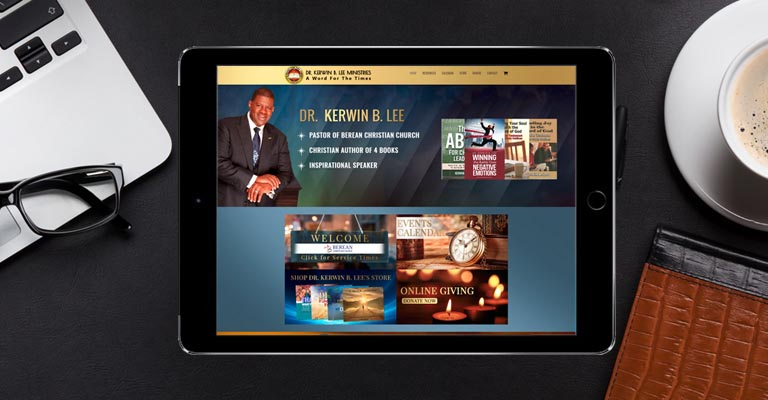 Kerwin Lee Website