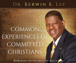 Common Experiences of Committed Christians