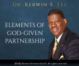 Elements of a God Given Partnership