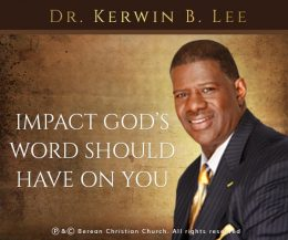 Impact God's Word Should Have on You