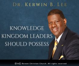 Knowledge Kingdom Leaders Should Possess