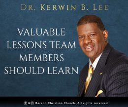 Valuable Lessons Team Members Should Learn