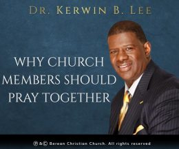 Why Church Members Should Pray Together