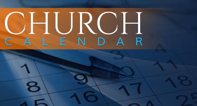 Berean Church Calendar Homepage