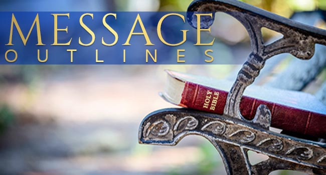 Berean Christian Church Message Outlines Homepage