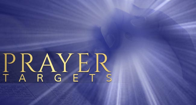 Berean Christian Church Prayer Targets