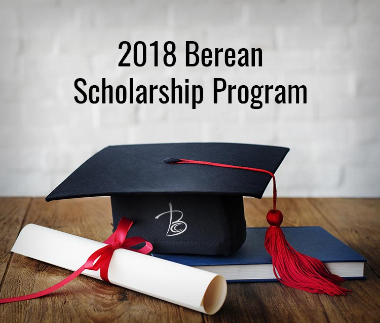 Berean College Scholarship 2018
