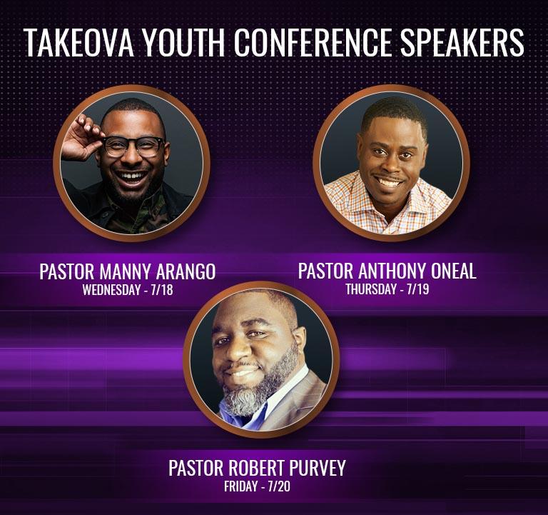 Berean Takeova Conference Speakers