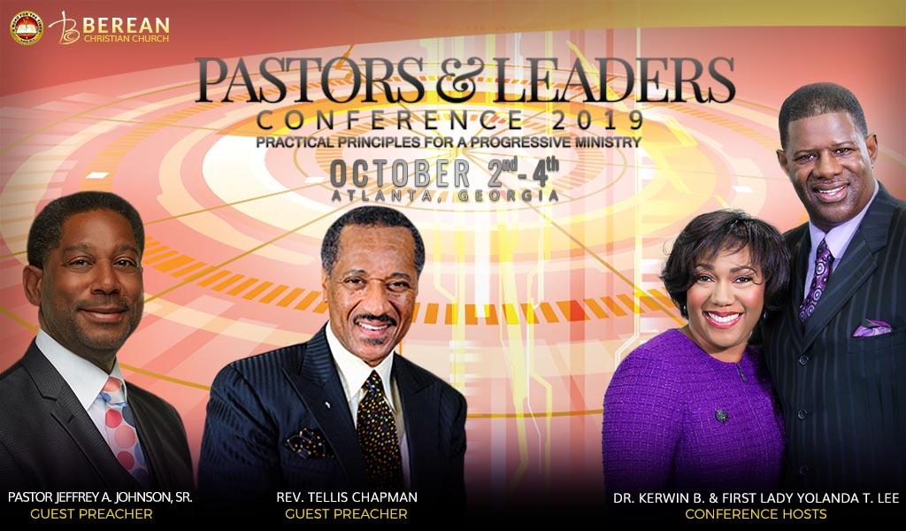 Pastors and Leaders Berean Conference 2019