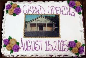 Outreach Center Grand Opening Cake