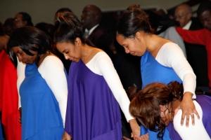 Berean Dancers Praying